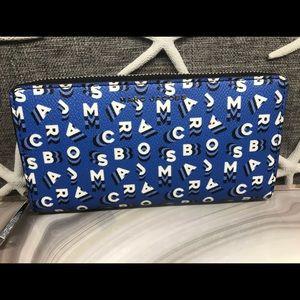 Marc Jacobs Full ZIP Sapphire Wallet